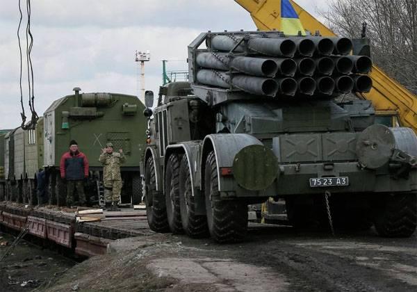 Состав с тяжёлой техникой ВСУ прибыл на станцию в 30 км от Донецка