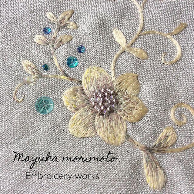 Волшебная вышивка Mayuka Morimoto Oyanagi. Продолжение