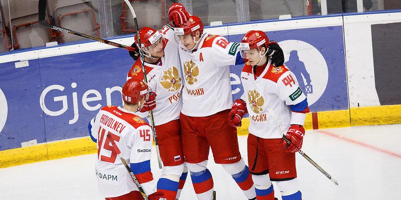 Хоккей. Чемпионат мира среди юниоров. Россия - Словакия