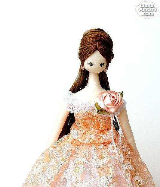 Корейская кукла своими руками 26