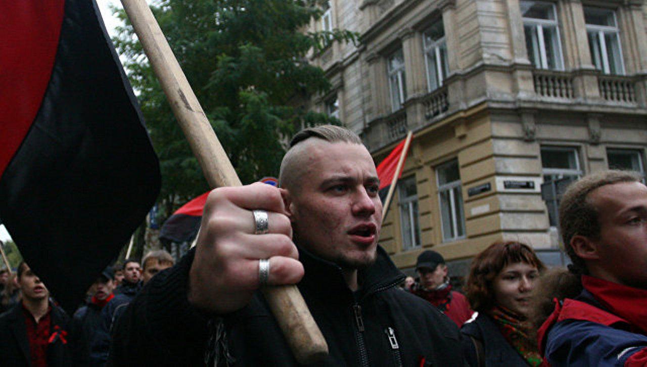 Во Львове прошло антипольское факельное шествие
