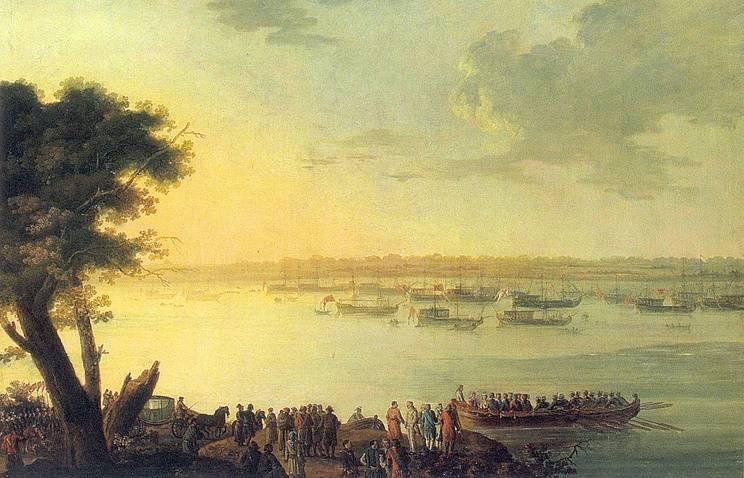 """""""Подчеркнуть могущество"""" и """"внушить страх"""": как и для чего Екатерина II ездила в Крым"""