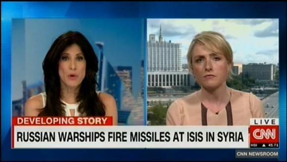 CNN усомнился, что российский удар по Сирии был направлен на ИГ