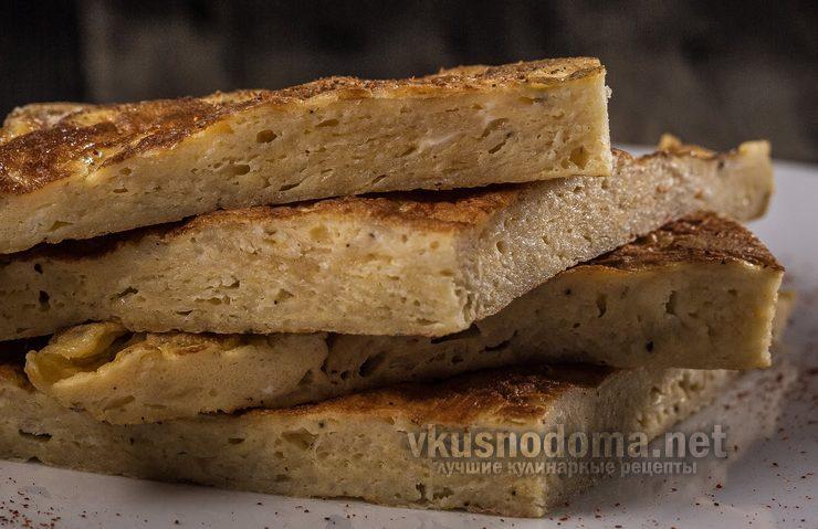 Омлет с картофельными чипсами