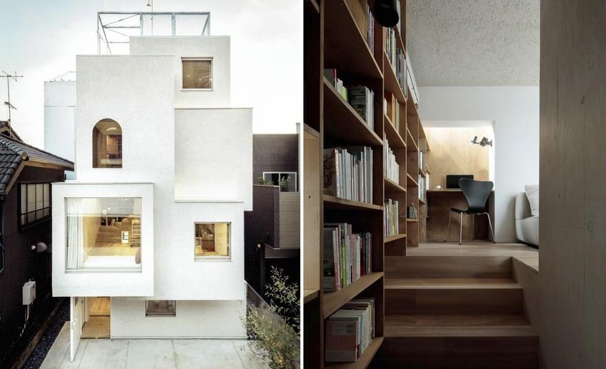 Необычный дом архитектора в Токио