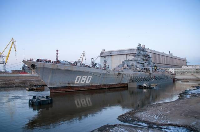 «Адмирал Нахимов» вернется в состав флота в 2020 году