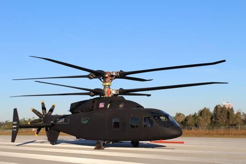 Вертолет Sikorsky Boeing SB 1 Defiant. Возможная замена для UH-60