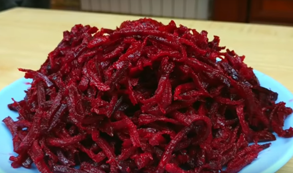 Безупречный салат из свеклы