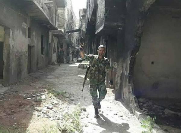 САА смяла передовые позиции террористов в Ярмуке
