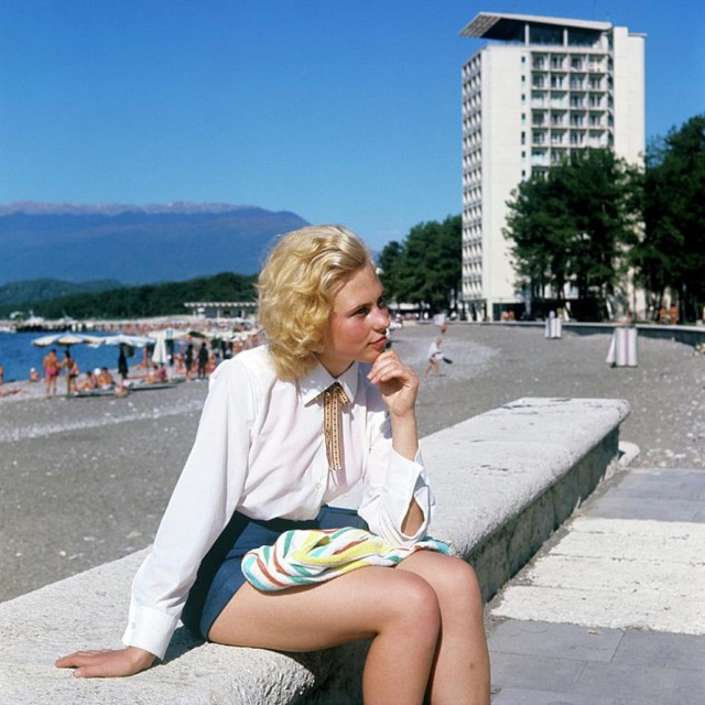 Очаровательные девушки советского времени