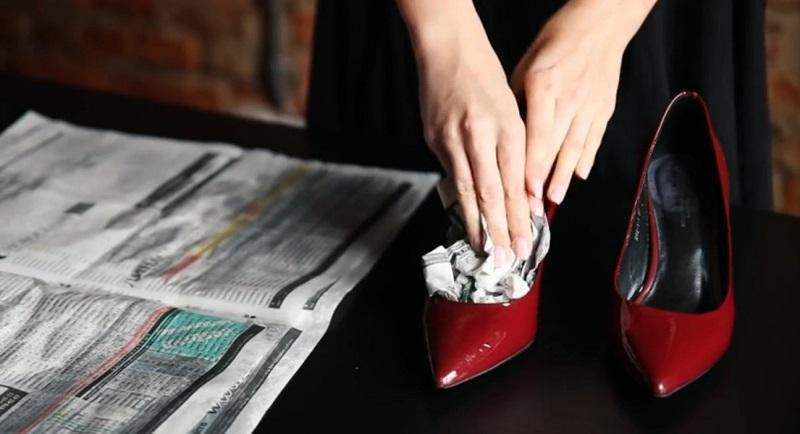 туфли и газеты