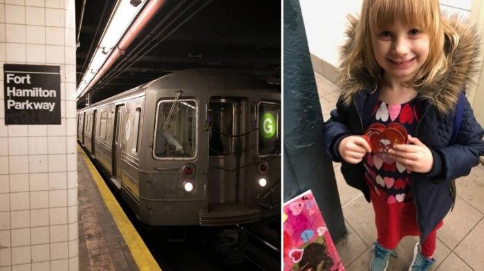 5-летняя девочка каждое утро махала машинистам метро, и однажды случилось чудо - поезд остановился