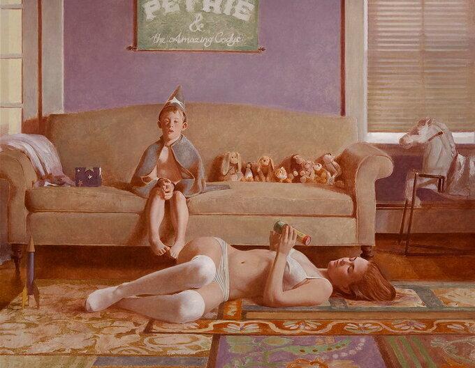 Дэвид Бейкер-меланхолия в домашней обстановке.