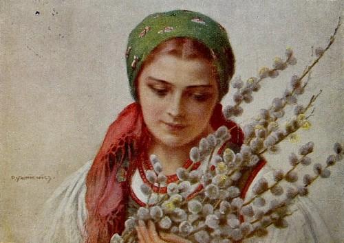 Вербное воскресенье в русской живописи и поэзии