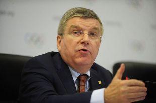 Томас Бах встретился с российскими спортсменами в Пхенчхане