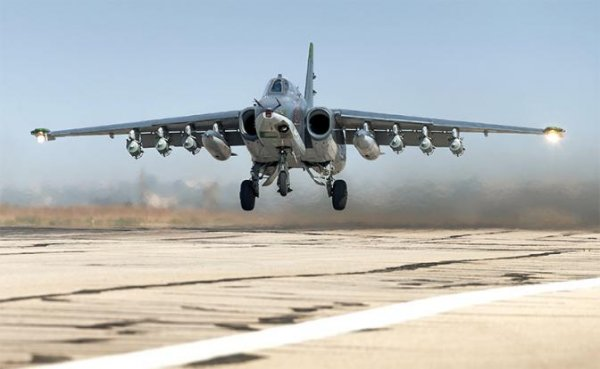 «Грачи» прилетели: Су-25 вернулись в Сирию