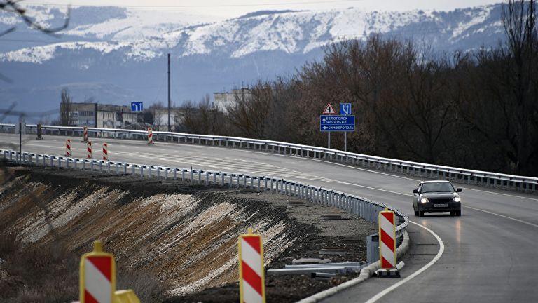 В Крыму открыли движение на втором участке трассы «Таврида»