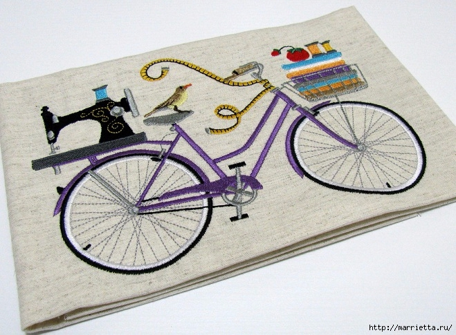 Вышиваем велосипед. Идеи со схемами (30) (659x485, 276Kb)