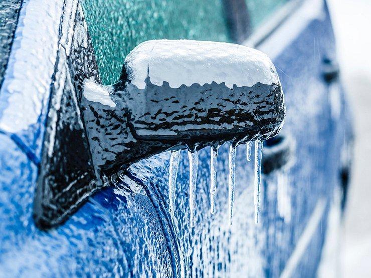 Как избежать аварии в ледяной дождь
