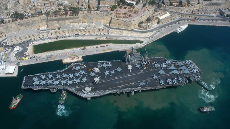 Россия против НАТО. Так для чего же США авианосцы?