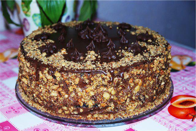 Королевский торт — полностью оправдываем свое название!