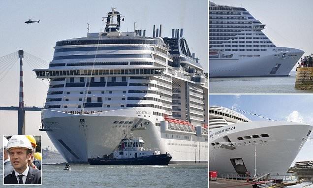 Грандиозный запуск крупнейшего в Европе круизного лайнера