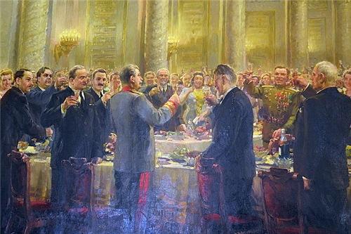 Иосиф Сталин: Тост за русский народ