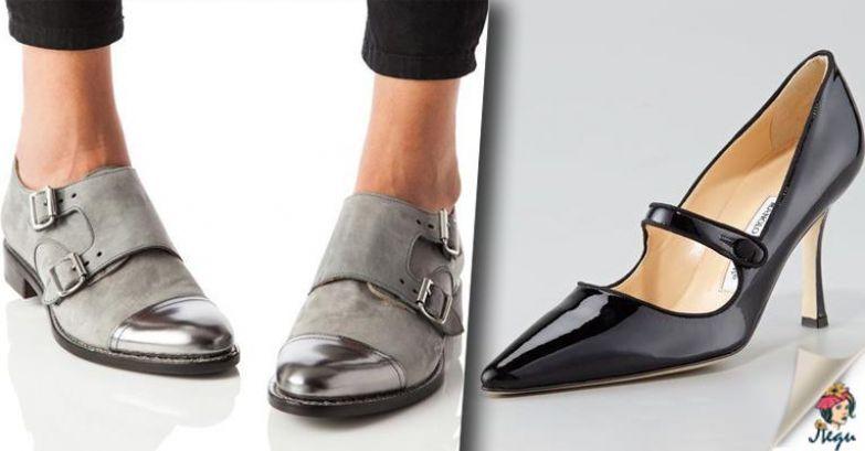 Все модели модной обуви ново…