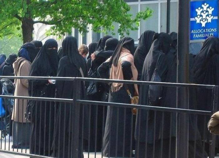 Удобно, когда каждая из 4 жен получает пособие на каждого из своих 6 детей.