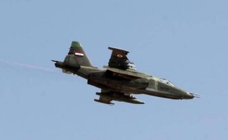 ВВС Ирака нанесли удар по позициям террористов в Сирии