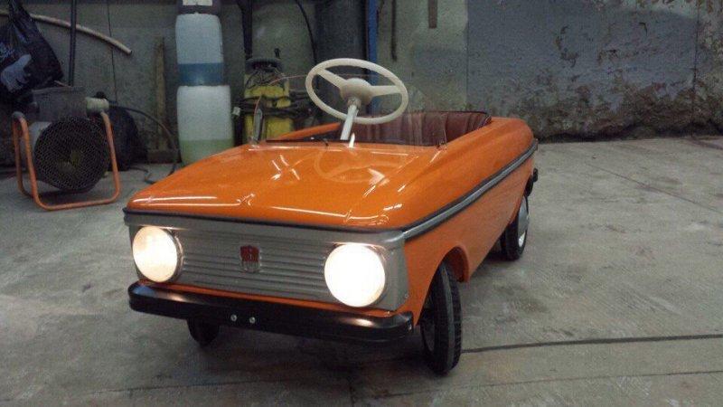 Педальный «Москвич» - мой первый автомобиль
