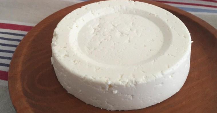 Домашний сыр из двух ингредиентов