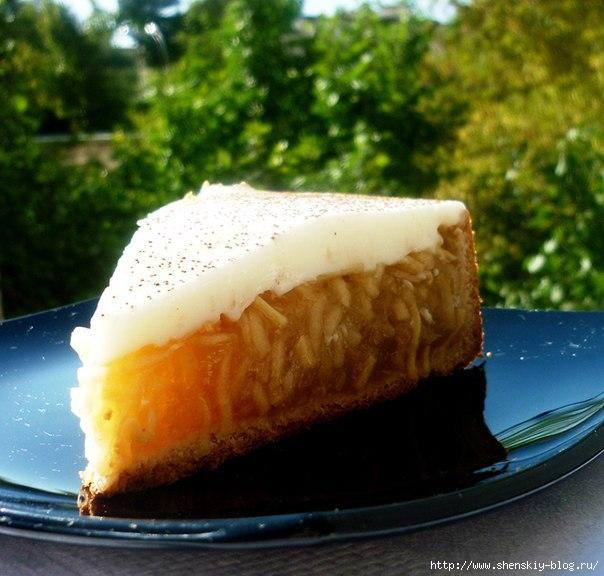 """Яблочный пирог """"Янтарный лучик"""""""