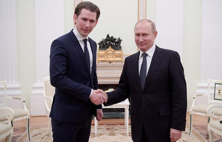 Владимир Путин пояснил австрийскому канцлеру Себастьяну Курцу нашу позицию по Восточной Гуте