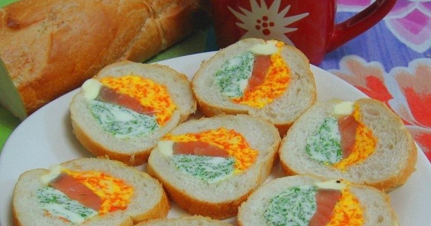селедка в хлебе