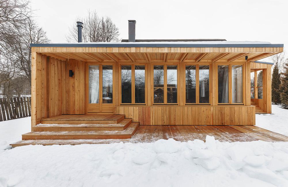Как перестроить старый деревянный дом: реальный пример в Тарусе