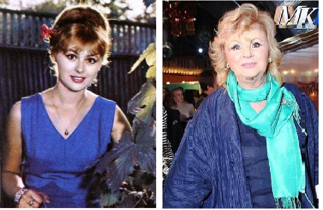 На лице написано — первые красавицы советского кино тогда и сейчас
