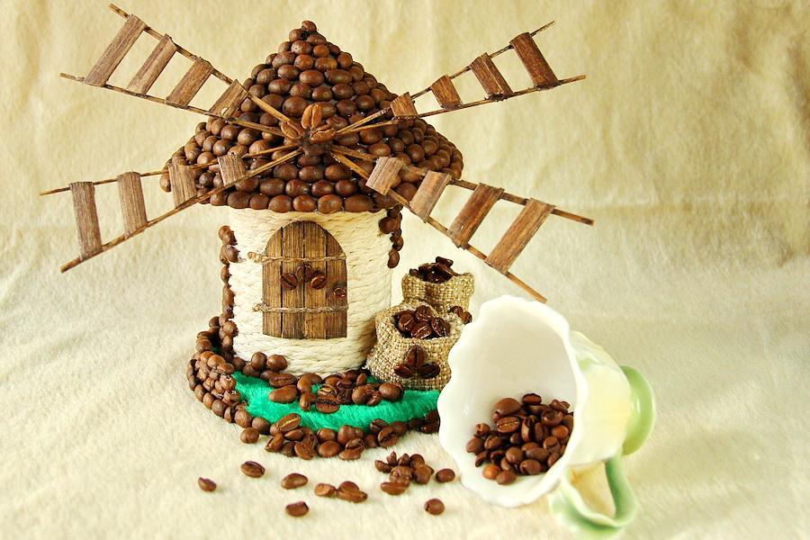 Мельница из кофейных зерен