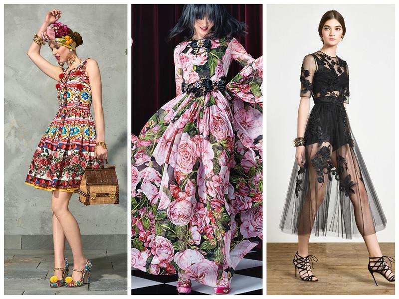 Lookbook женской одежды Dolce & Gabbana весна-лето 2017