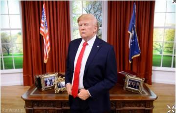 Трамп «выгнал» Обаму из музея мадам Тюссо