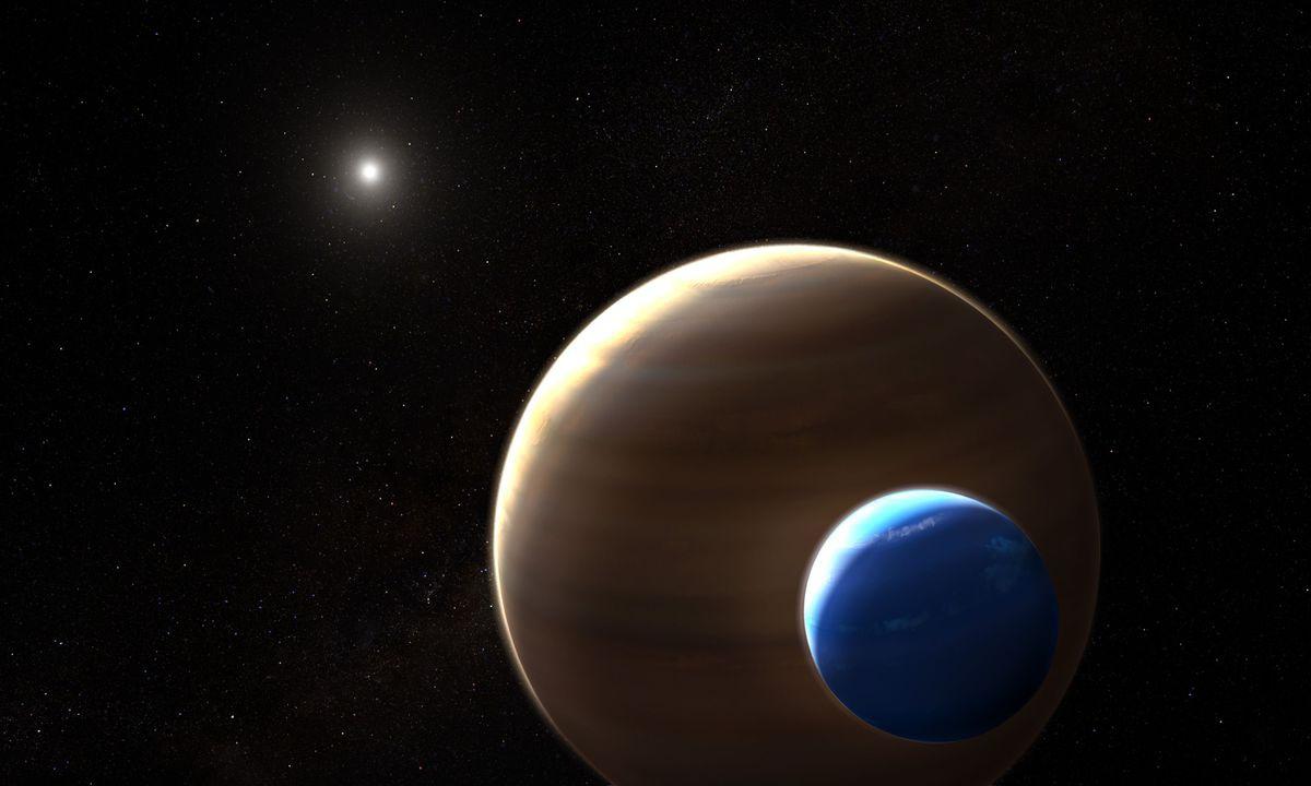 Астрономы рассказали о столкновении двух экзопланет