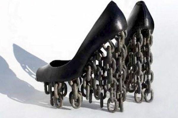 Каблуки-цепи