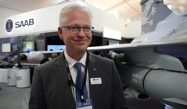 Компания Saab активно продвигает истребитель Gripen в Латинскую Америку