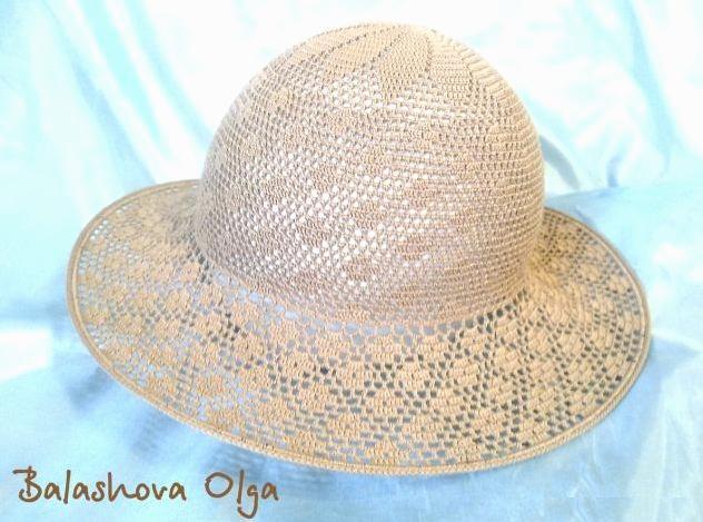 Схемы летних шляп крючком. Часть 3