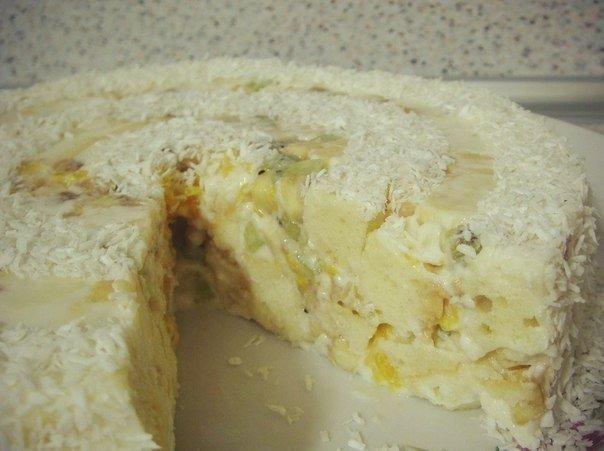 Фруктовый торт «Наслаждение»
