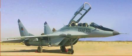 Су-27 против Миг-29. Война в воздухе на Африканском Роге