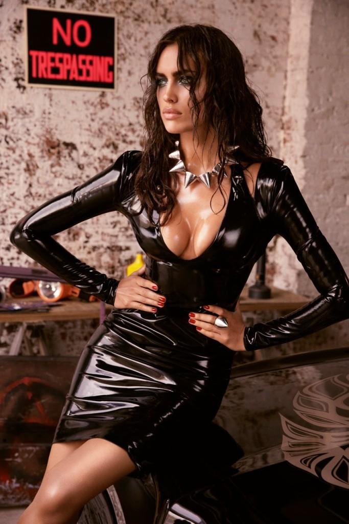 Феноменальная Ирина Шейк  в фотосессии для мужского журнала GQ