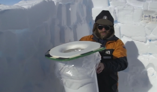 Как работают туалеты в Антарктиде?