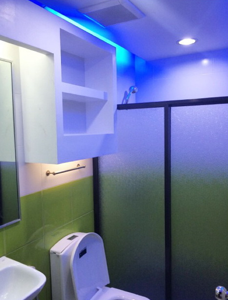 Освещение в туалете