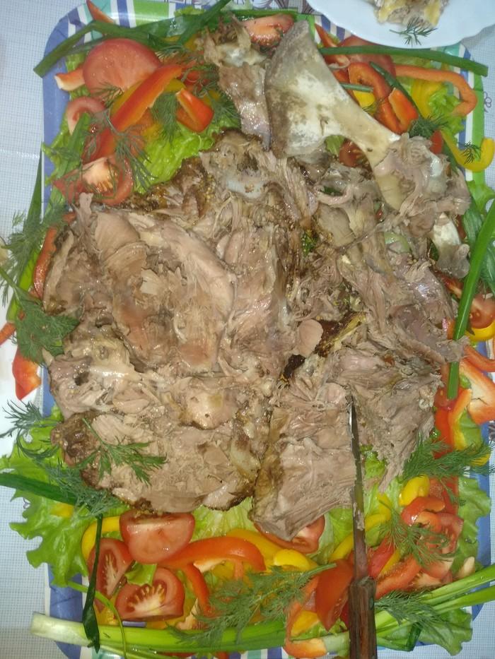 Запекаем баранину в духовке Мясо, Запечённая баранина, Кулинария, Мужская кулинария, Длиннопост